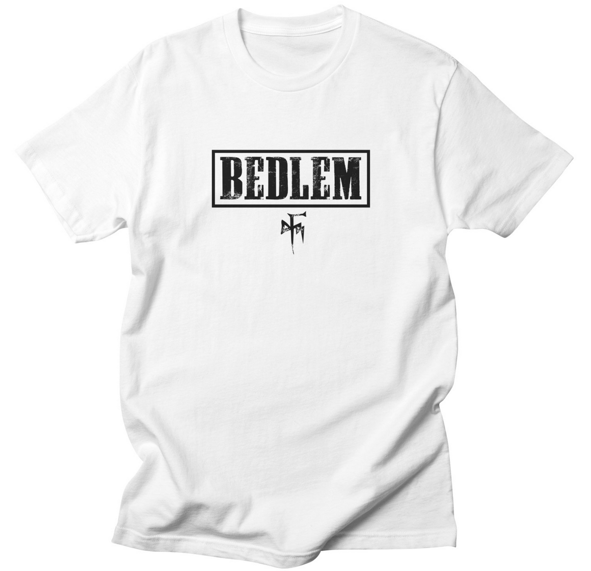 """Click here to order the """"BLACK BEDLEM LOGO"""" shirt and more"""