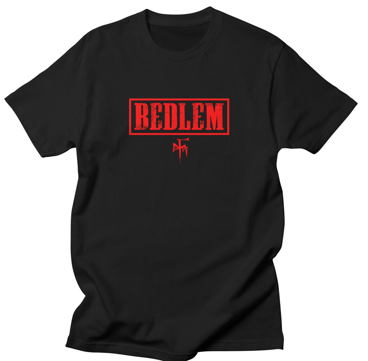 """Click here to order the """"RED BEDLEM LOGO"""" shirt and more"""