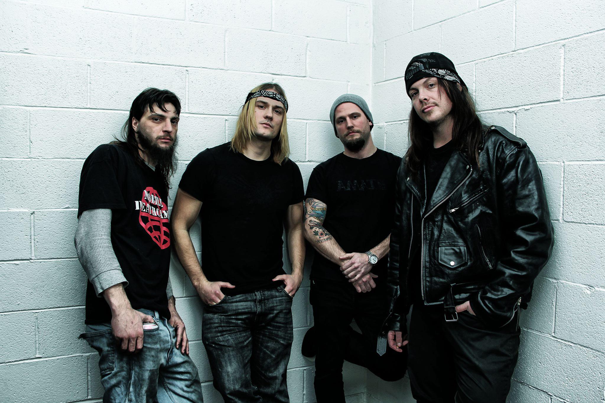 Left to right: Brian Ahern, Paul Wandtke, Mike Petrasek, Joey Brassal