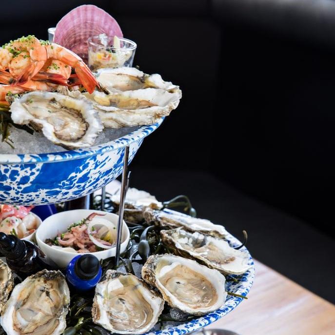 SHRIMP, COLLARDS & GRITS |Big Flavor at NICO's Oyster Bar -