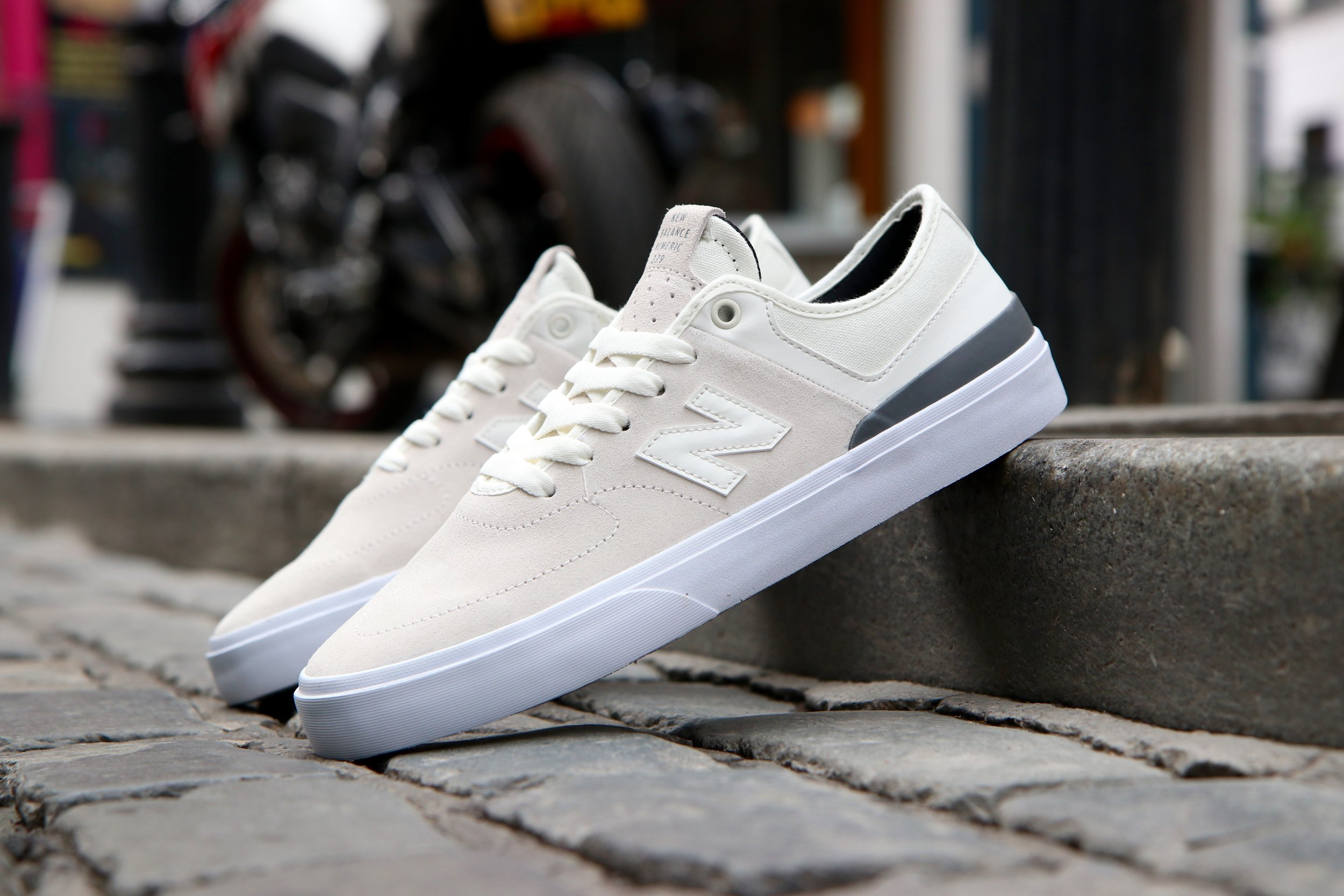 3be2c7b9 New Balance Numeric - 379 -White with Grey — High Rollers Dublin