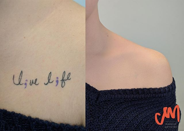 What tattoo?⁠ ⁠ #tattoocover #coverup #tattoo #makeup #makeupartist #mua #freelance #freelancemakeup #beauty #photography #tattoocoverup #creative #nashville #petitejoys #livecreative #ink #art #tattooed #tattooart #instatattoo #girlswithtattoos #bodyart #design