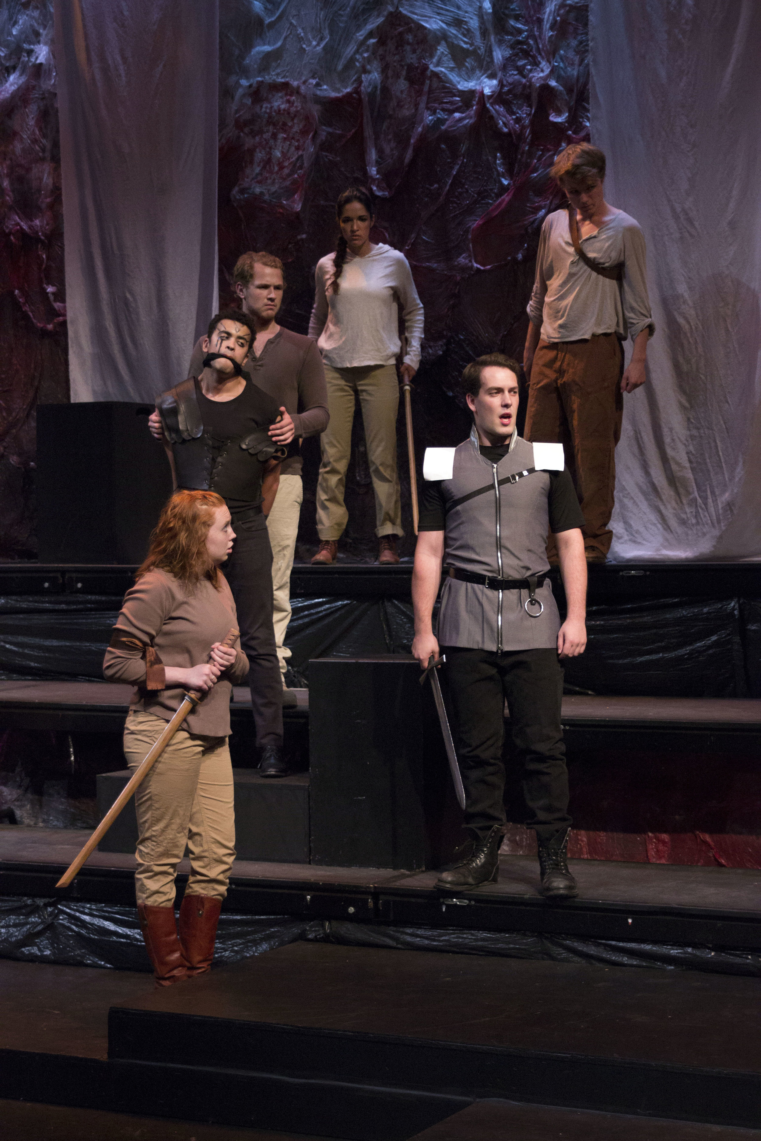 Titus Andronicus at Shakespeare Theatre of NJ 2015