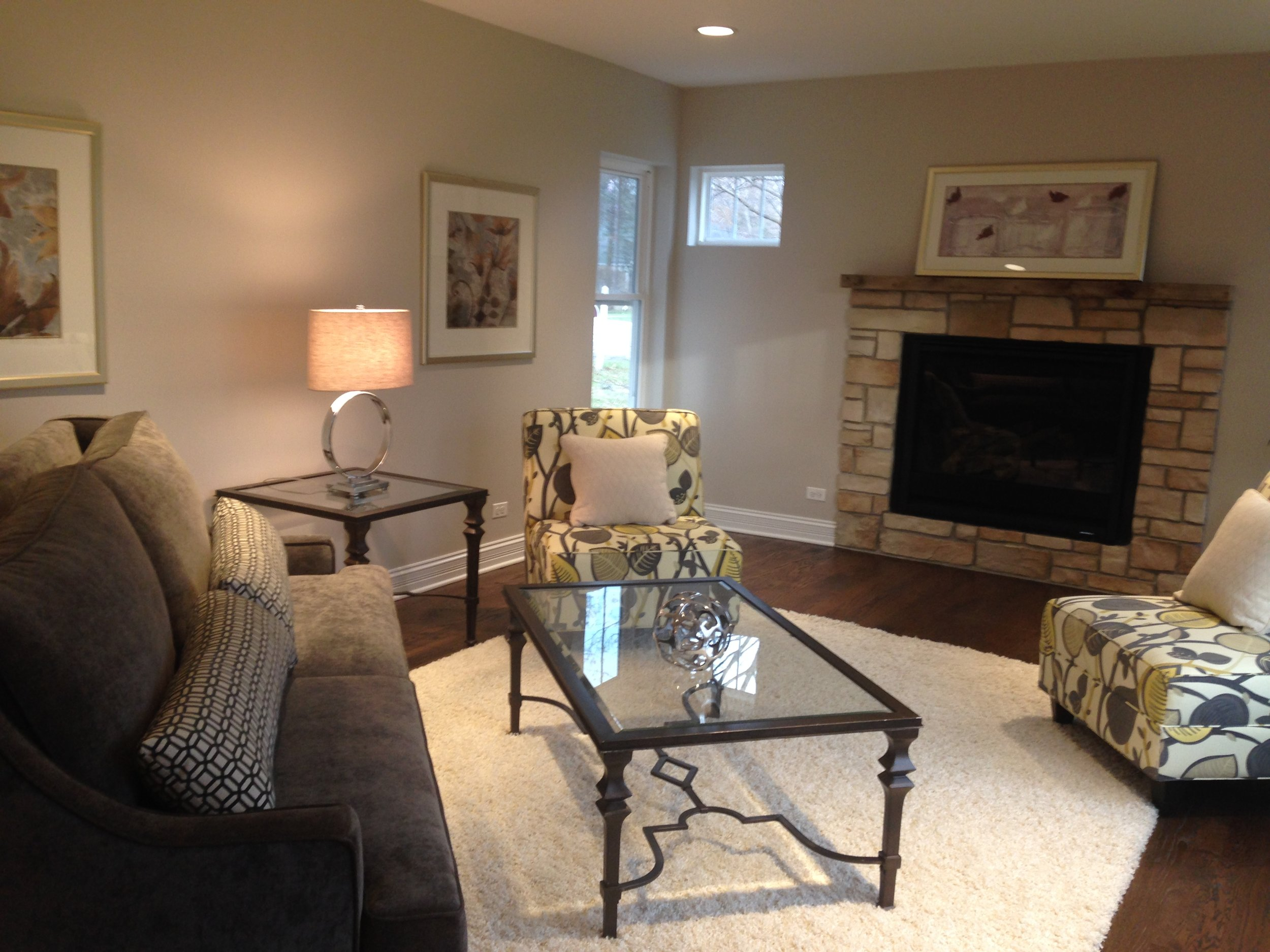 Family Room in Crystal Lake IL