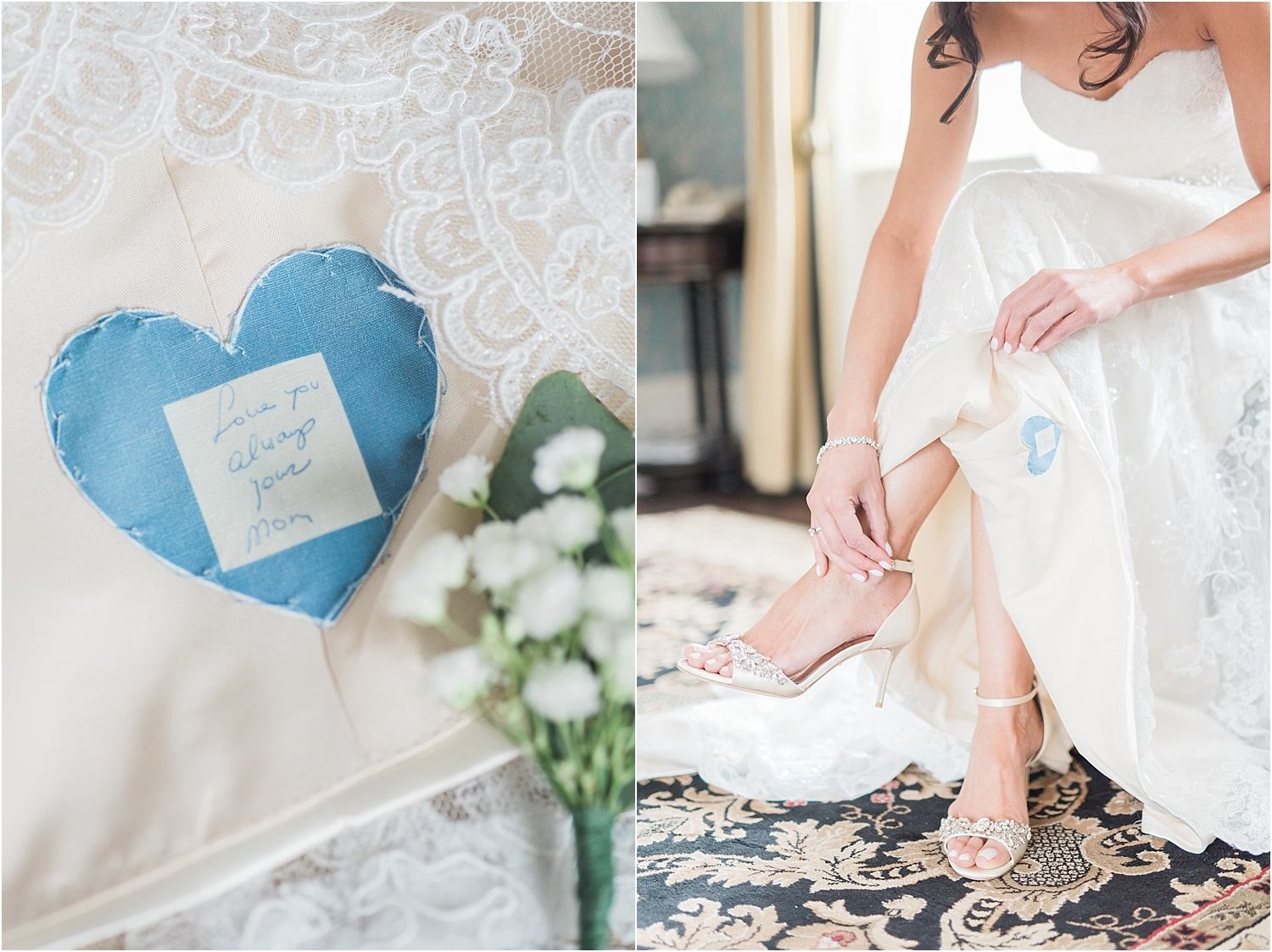 something blue_unique ways to honor parents at wedding