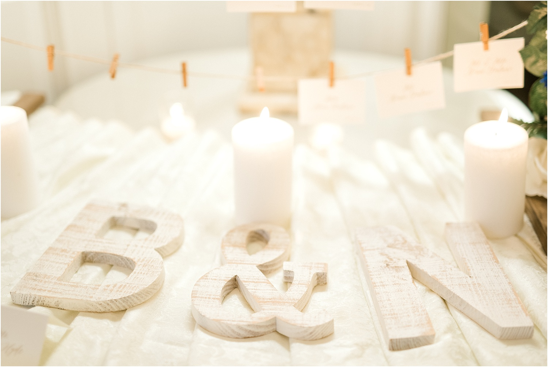 personalized wedding decor nj