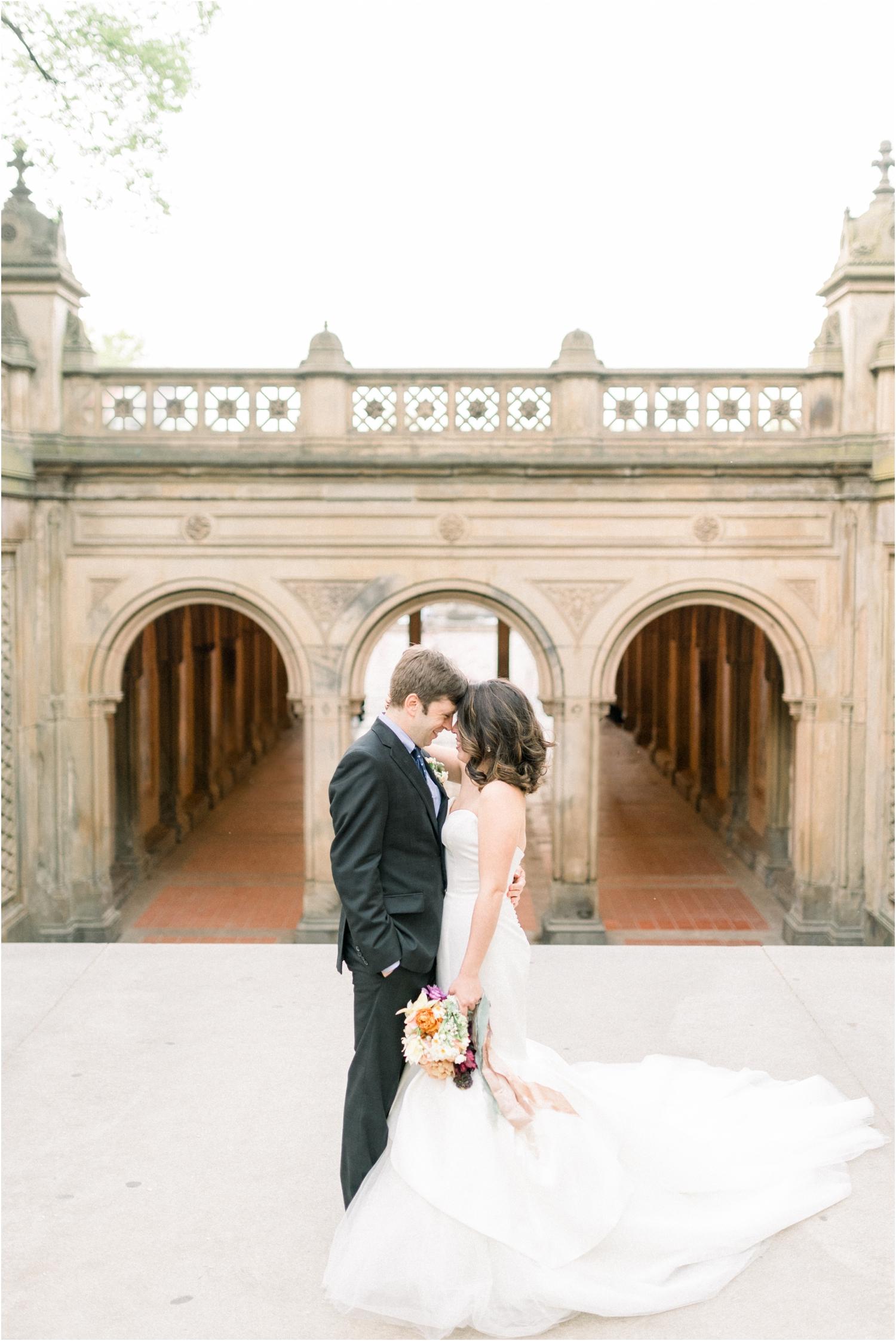 Bethesda terrace wedding pictures