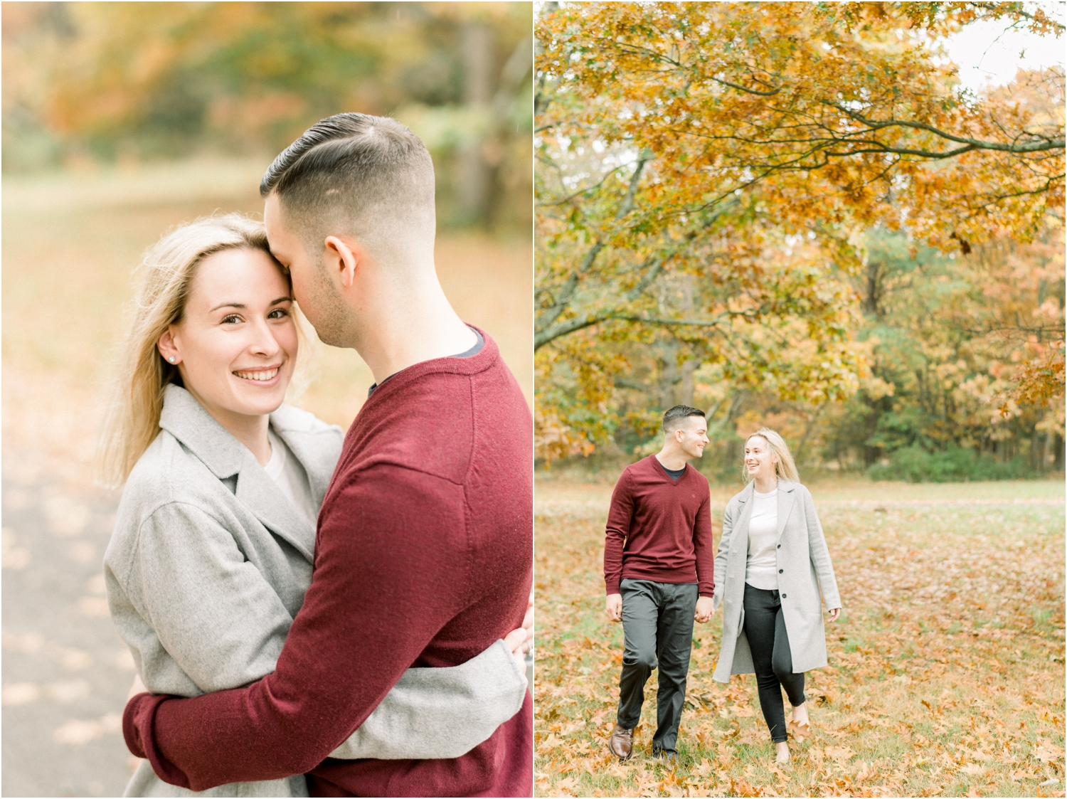 engagement photos heckscher state park
