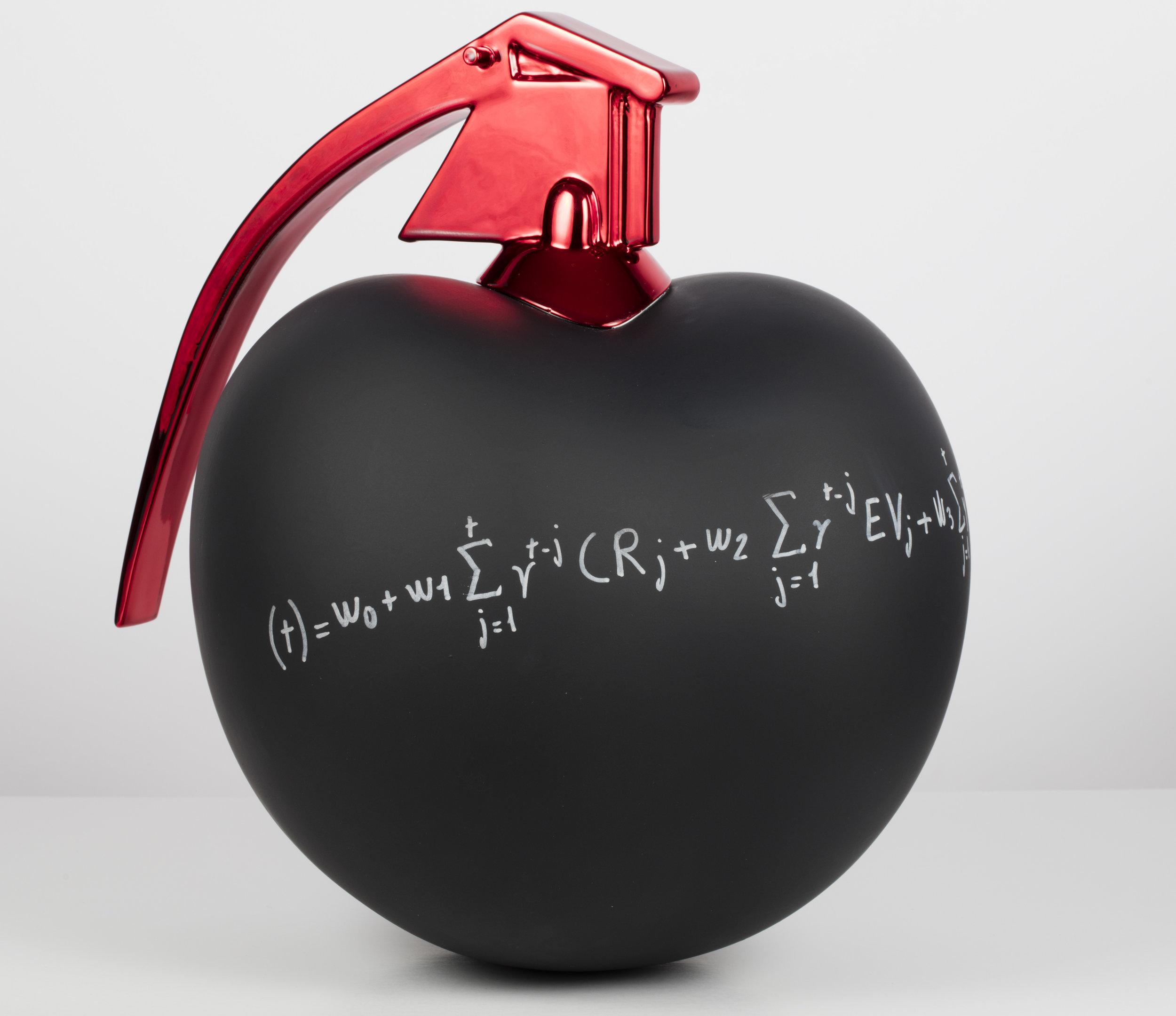 Formule Liberté  Résine et chrome - 30 cm