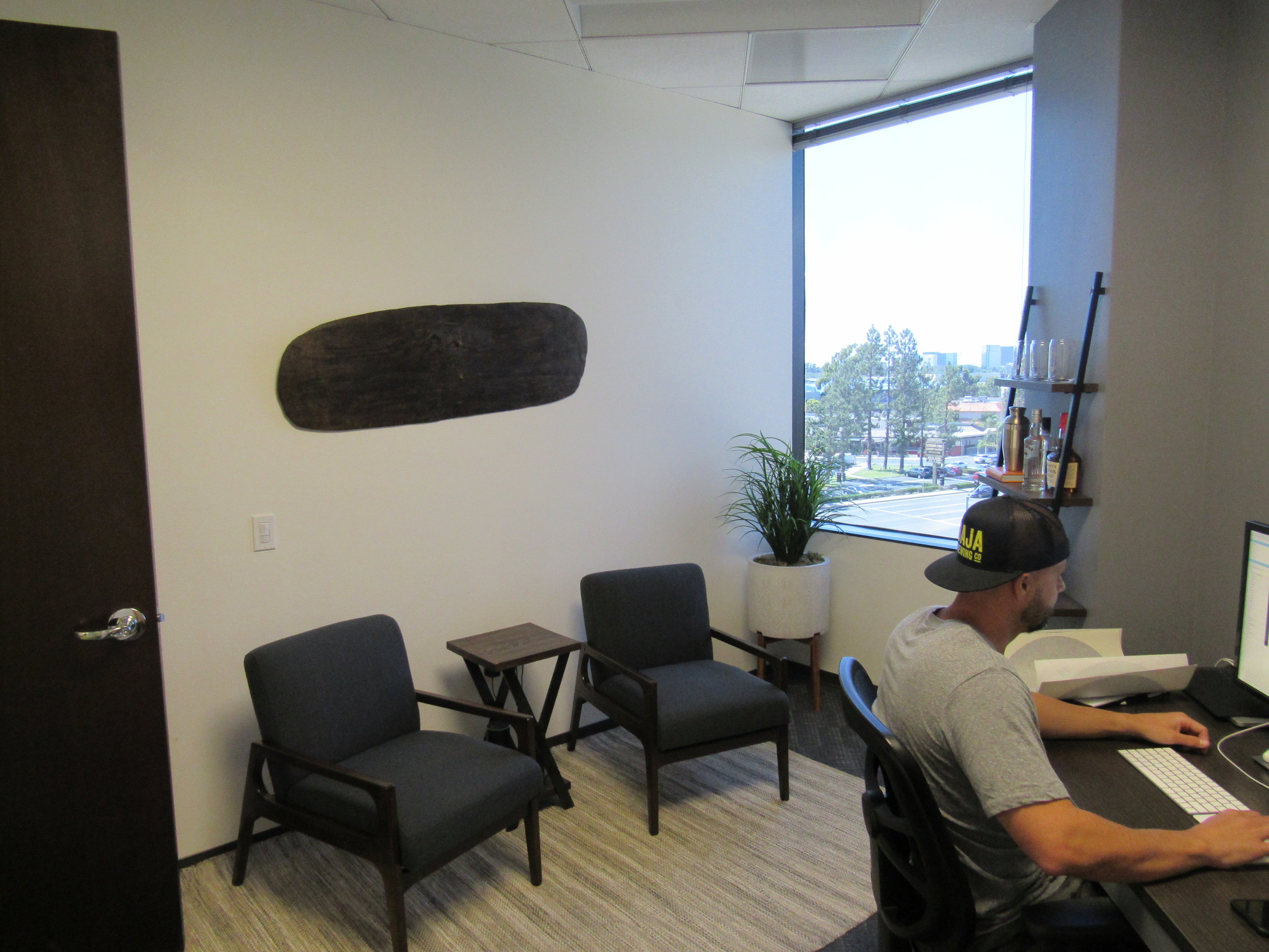 PRIVATE OFFICE - Starts at $500/monthWorkdays Per Month: UnlimitedAccess: 24/7Wifi: DUH!Conference Rooms: 4 Free Hour/month + Member RateMailbox: Included