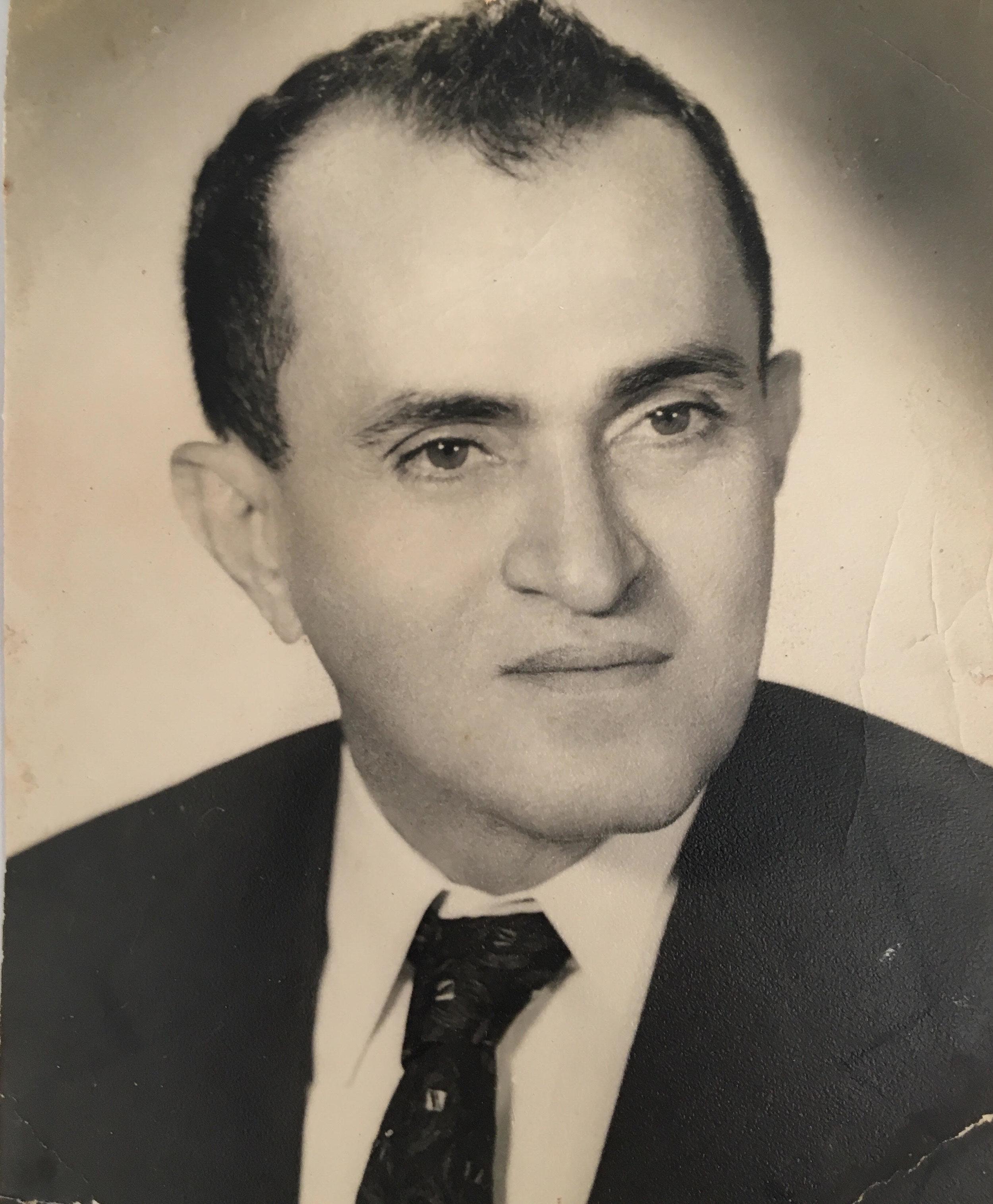 Gabi's Abuelo Luis who started Caballo Rojo in Puerto la Cruz, Venezuela.