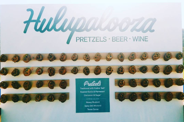Pretzel Bar for Hulu