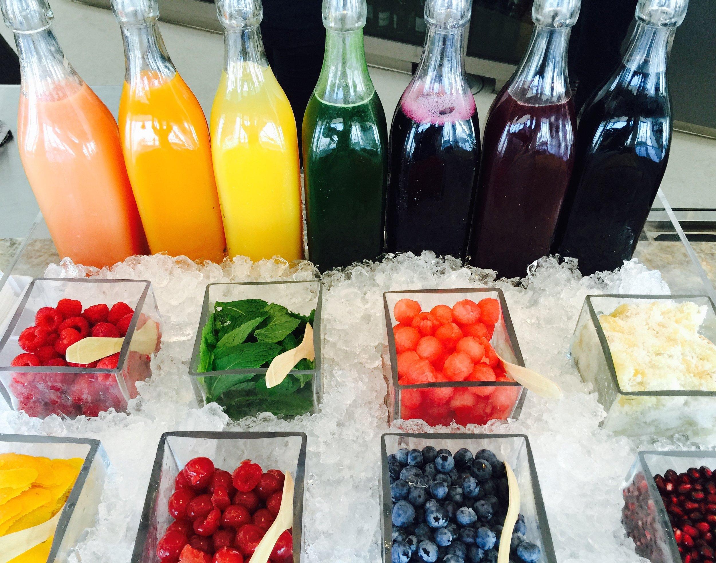 Rainbow Mimosa Bar