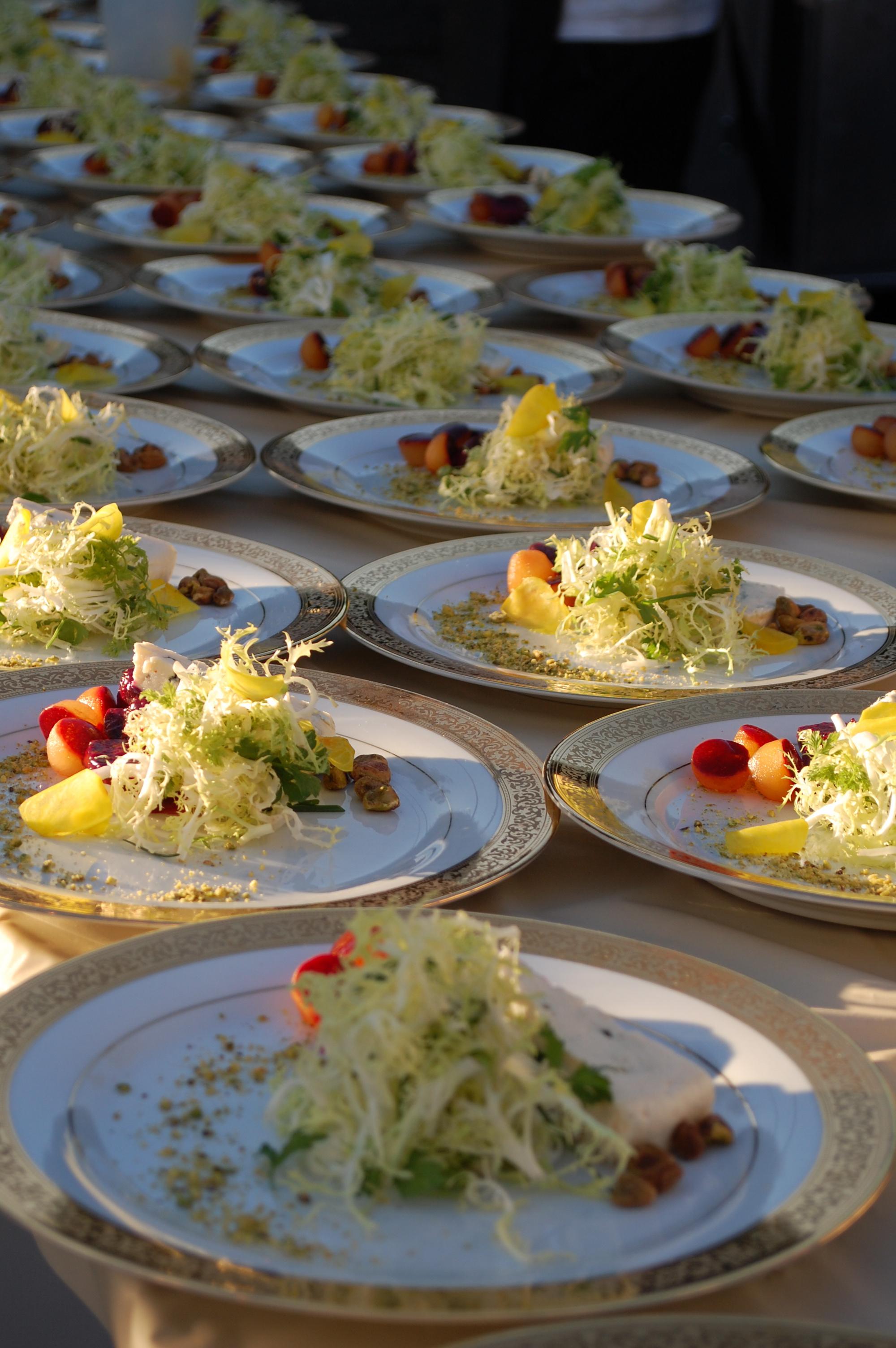 Plated Salads