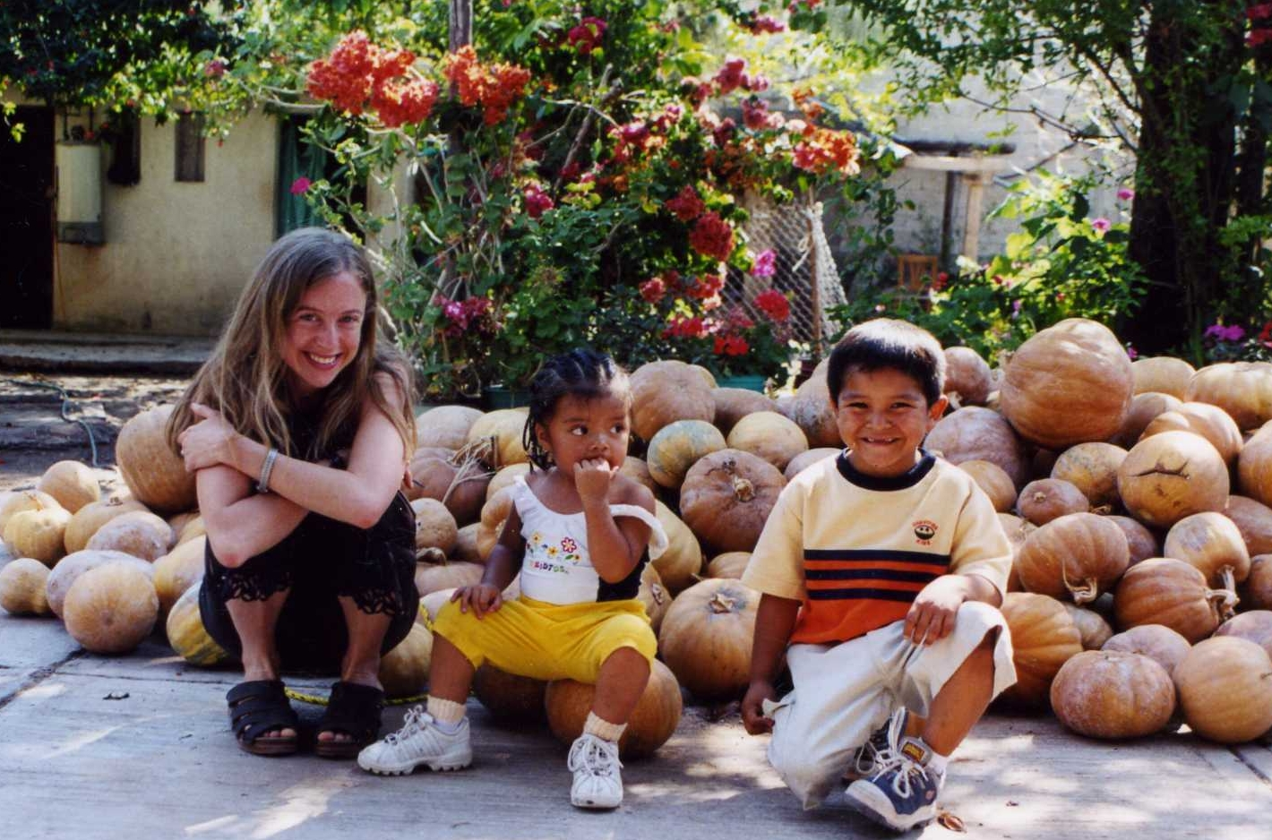 In a Mixtec village with some little friends (Oaxaca, Mexico)