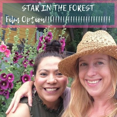 Gloria Garcia Diaz and I are thrilled to announce that STAR IN THE FOREST (which she translated to ESTRELLA EN EL BOSQUE) was optioned by awesome indie producer Dana Friedman of Kaleidoscope Media to be a feature film!!!!! Read more about it  here .