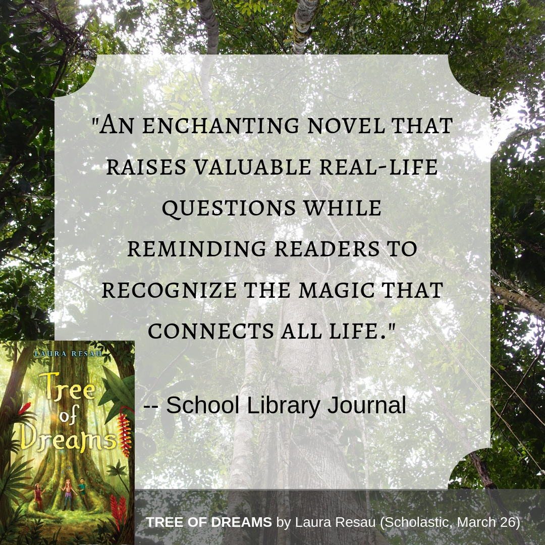 Another lovely review! This one is from School Library Journal!