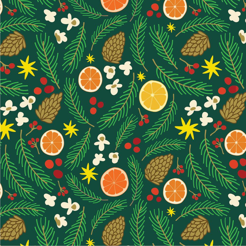 Winter Holiday Patterns -