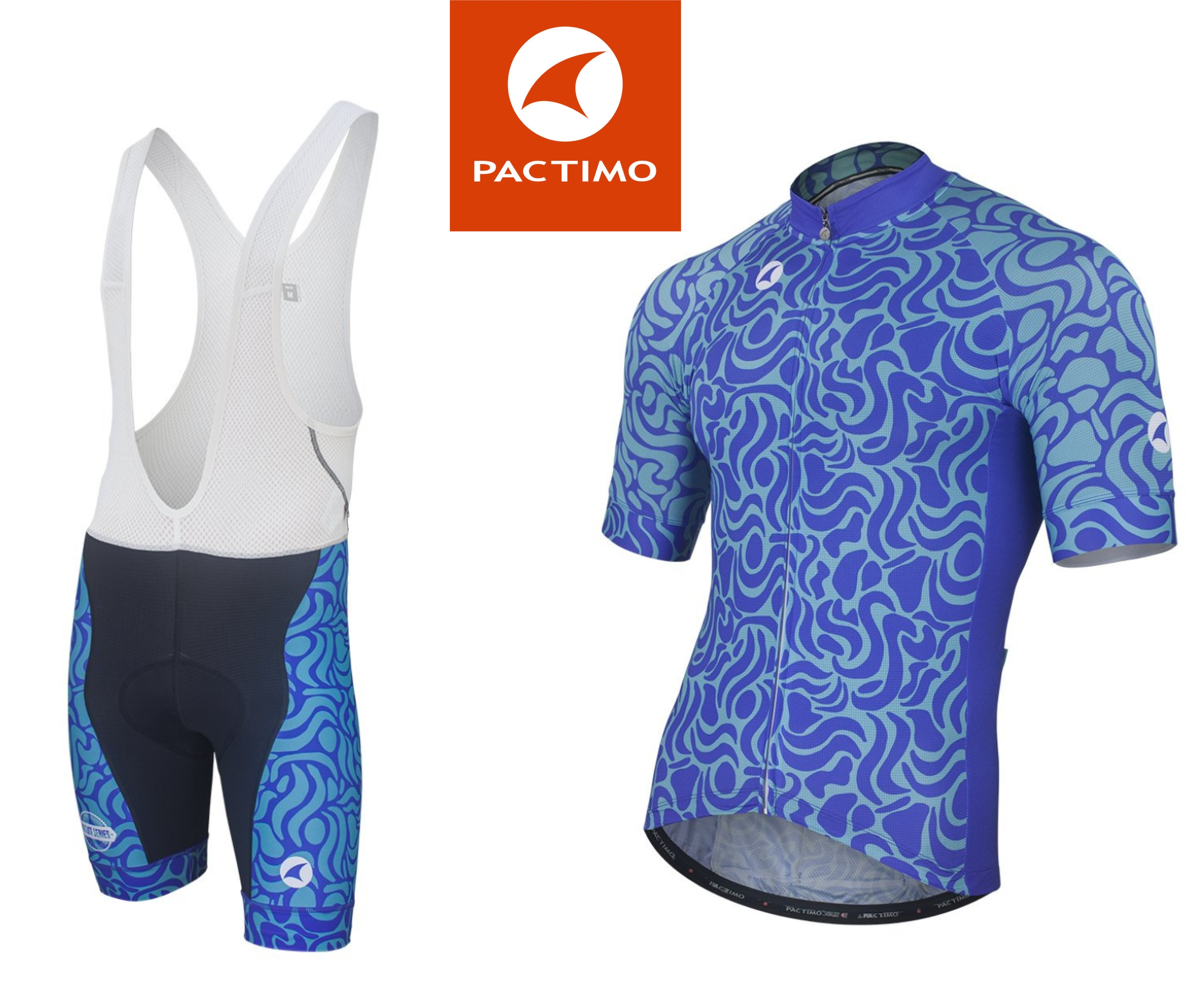 Cycling jersey design for Pactimo - Get a unique gift for your athletic friends! I designed these jerseys for Pactimo in fun colors to inspire the adventure in all of us! More patterns and designs on site for Women and Men!