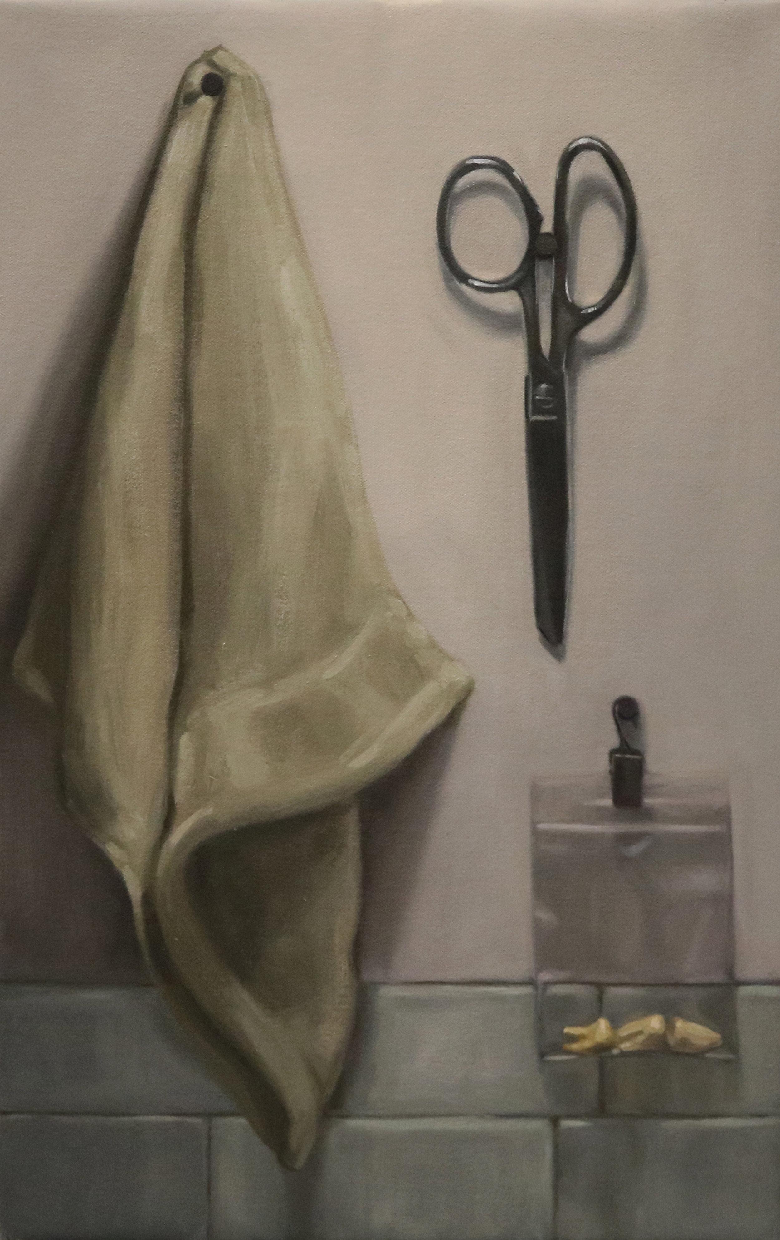 Washcloth, Scissors, Teeth