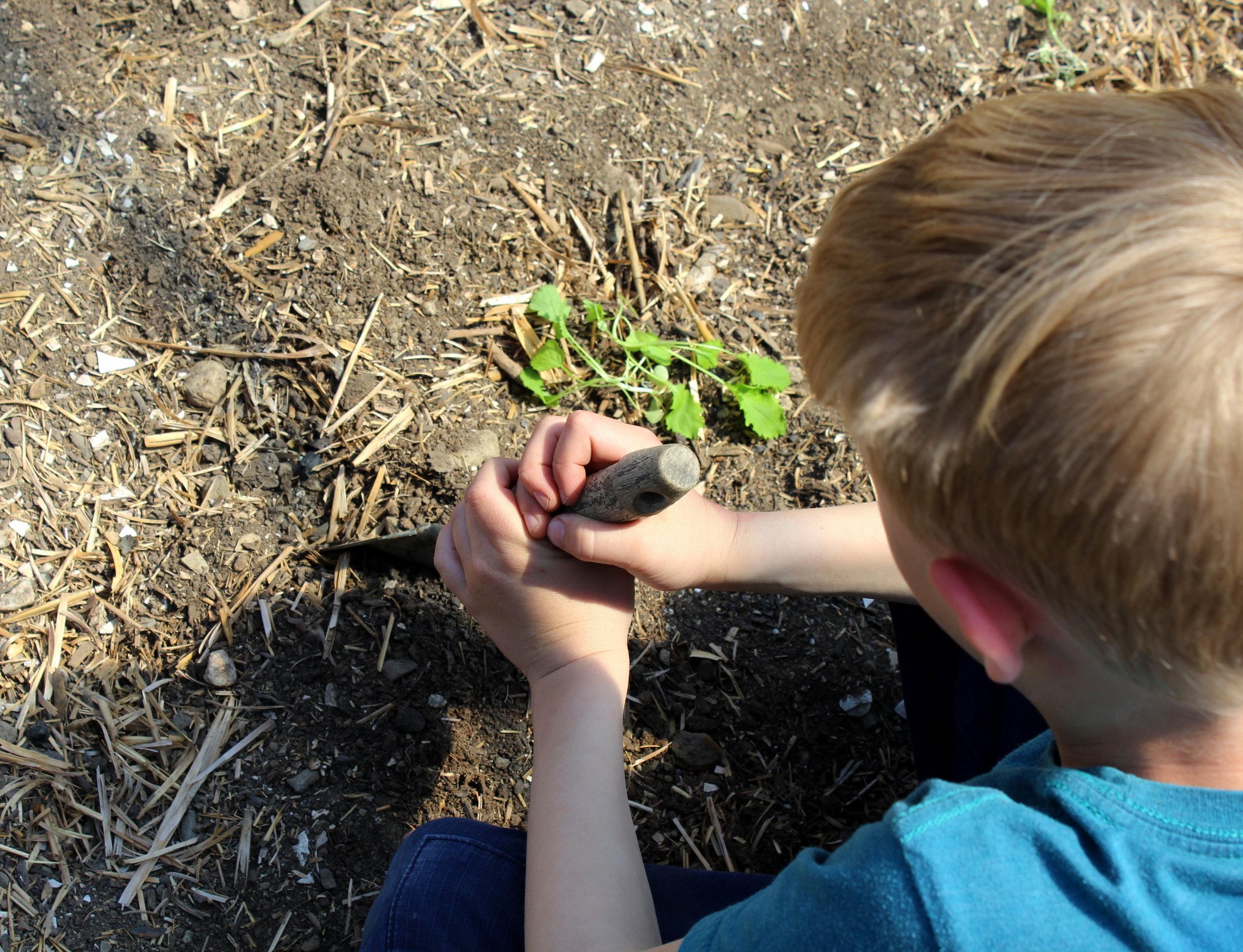 4-18-17 april vaca camp hoop house planting.JPG