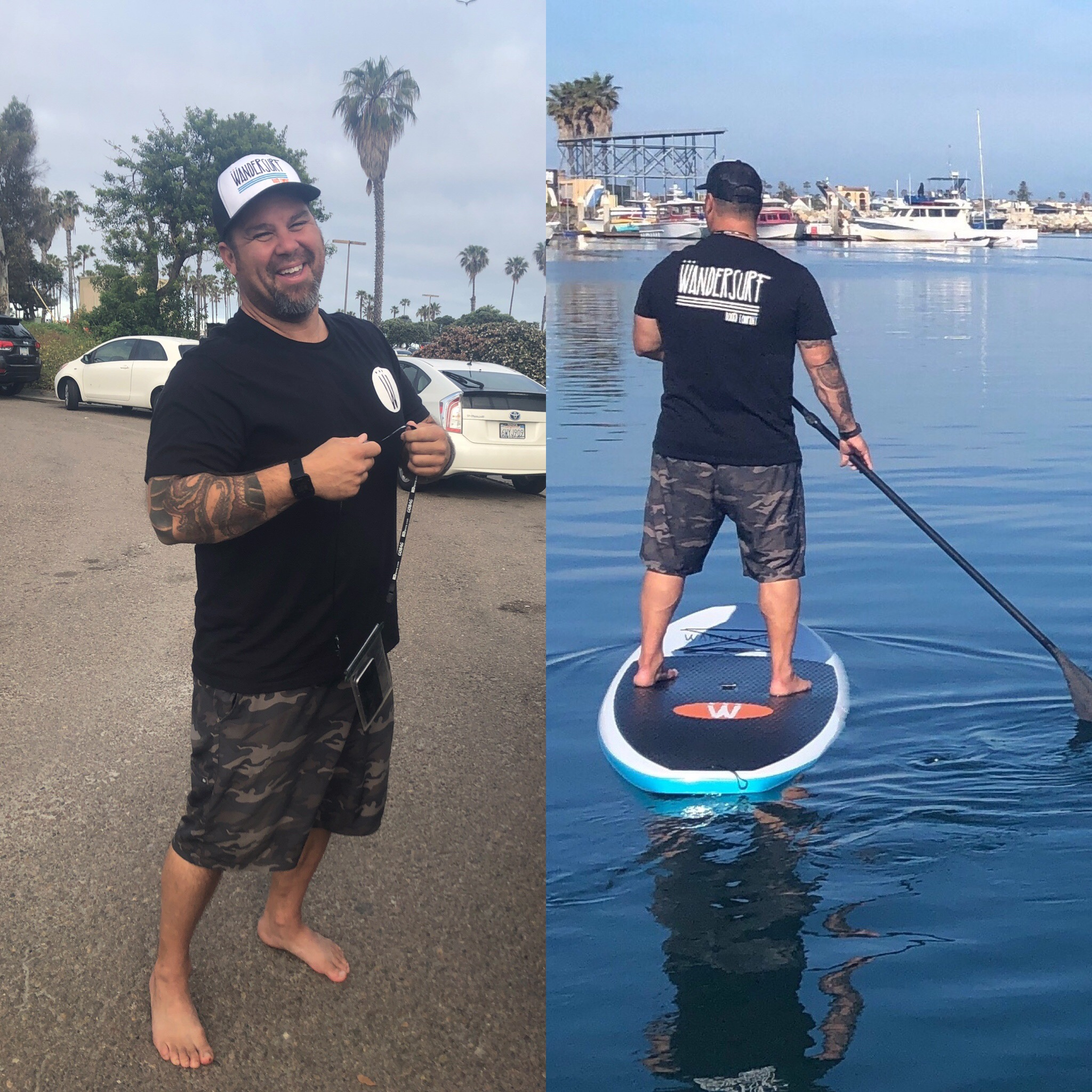 INSTRUCTOR   Hey everyone I'm your instructor Jason Gonzales. WanderSurf is my dream come true. I started this company to spread the joy and love of standup paddle boarding. With over 25 years of surfing and paddling experience I will make sure you hit the water with confidence and style. Come take a lesson and experience something new and exciting. Standup paddle boarding is an excellent way to build strength, balance (mental and physical), and community. Find your new passion and book your lesson, tour, or rentals today.