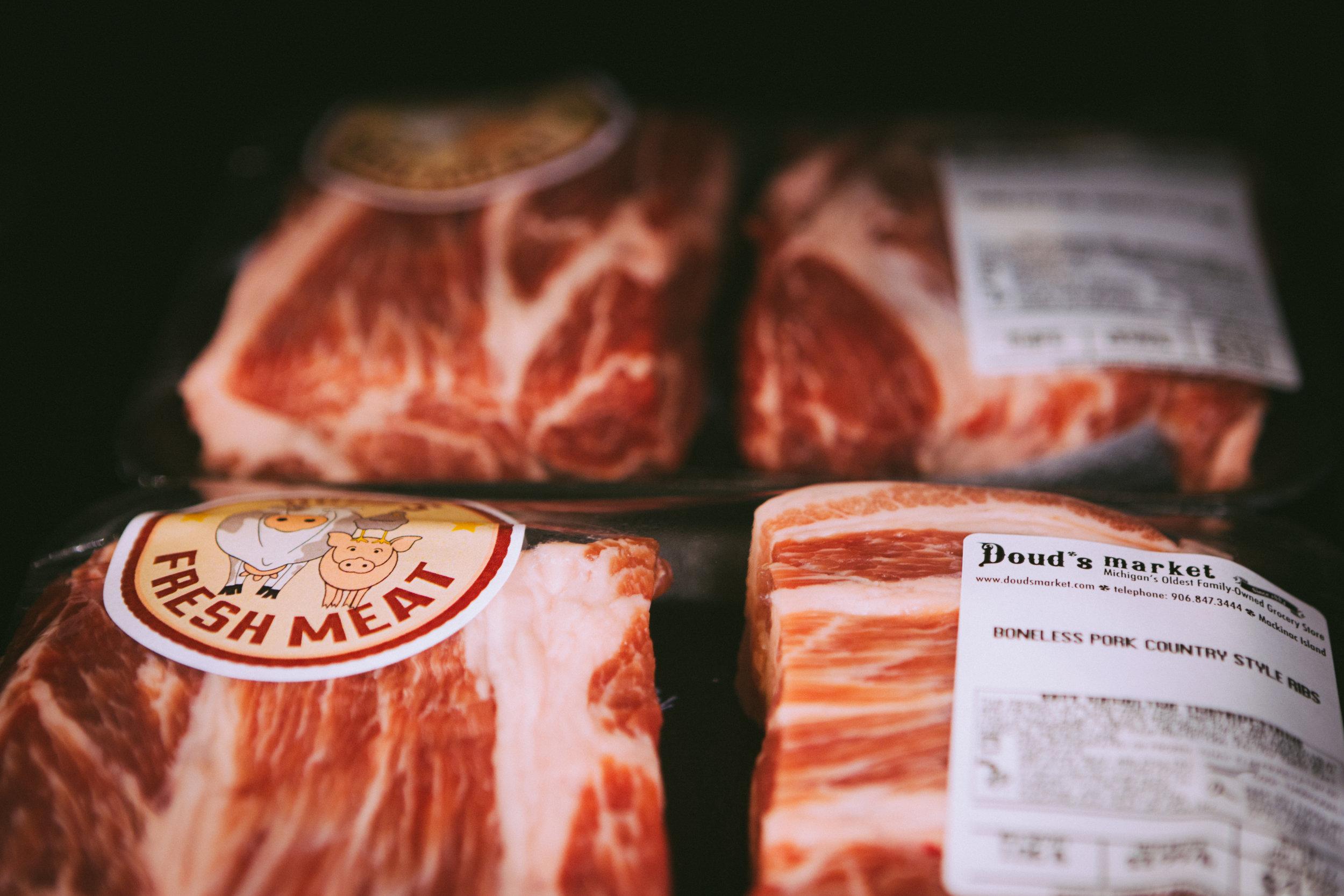 Fresh Meat Steak Chicken Beef Meat Market