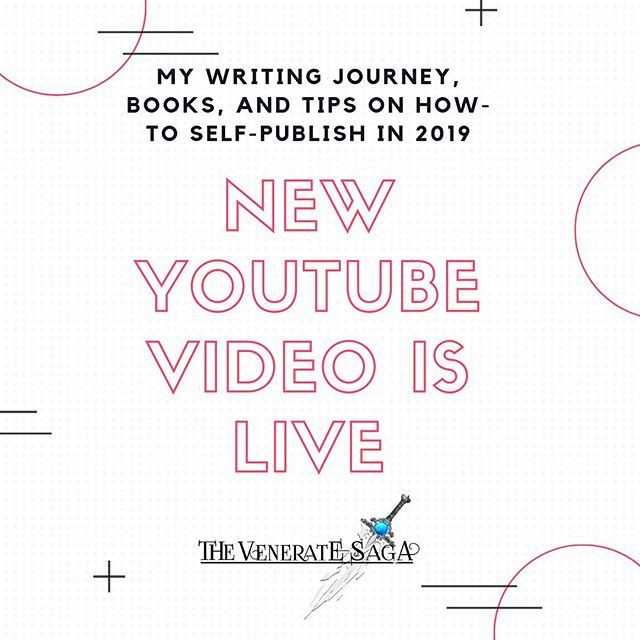New video! Link in my bio!  Happy Friday everyone! What are your plans for the weekend?  I think the first thing you should do is go check out my new video! I talk about a lot of cool things regarding my books, publishing tips, and who I am!  I will be posting videos weekly on lessons I've learned as a writer, tips and tricks, and some other great content!   Link is in my bio!  Go check it out and let me know what you think in the comment section on Youtube or here! I'm looking forward to seeing what you think!    #newvideoonline #newvideopost #writingvideo #writervlog #writingvideos #writersonyoutube #authortuber #authortubenewbietag #youtubegoals #vloggersofinstagram #newvideotoday #fantasybookseries #newadultfantasy #writingcenter #authortube #authorscommunity #writingtip #authorgram #writingskills #selfpublishtips #writinganovel #fantasywriter #newadultbooks #factsaboutme #fictionwriter #writingcommunityofinstagram #writingadvice #selfpublish