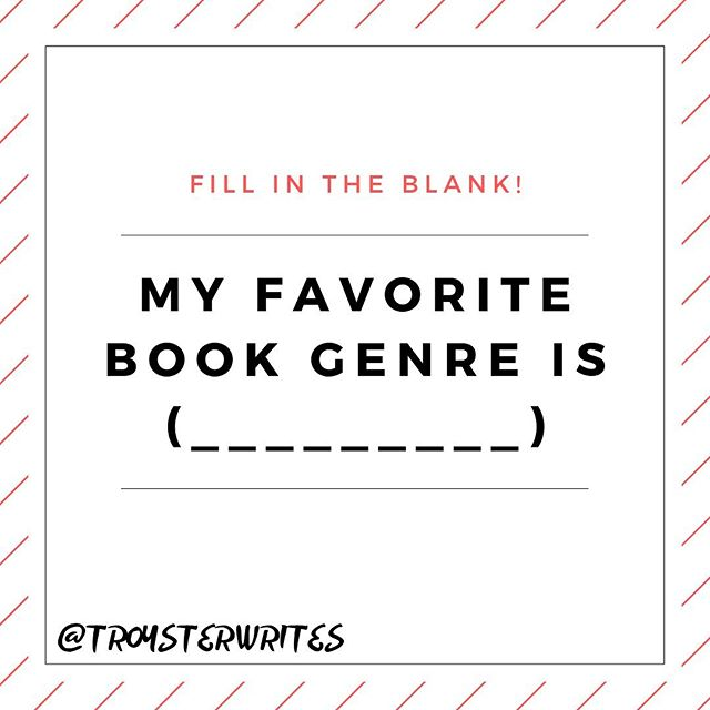 Comment below! ⁣ ⁣ My favorite is Sci-Fi/Fantasy. My second is self-improvement books.⁣ ⁣ Tag a friend below to join the discussion!⁣ ⁣ ⁣ ⁣ ⁣ #scififans #newadultfantasy #scifibookseries #bookishdude #bookishguy  #fantasybookseries #scifiauthor #scifiwriter #yascifi #scifinerd #scifibook #scifinovel #scifidaily #fantasyreads #fantasyseries #fantasyauthor #fantasywriter #scifiworld #newadultbooks #fantasywriter #fantasyfiction #fantasybook #fillintheblank #bookgenredebate #whatsyourfavoritebook #bookdiscussion #scififantasy #bookaddicts #bookpassion