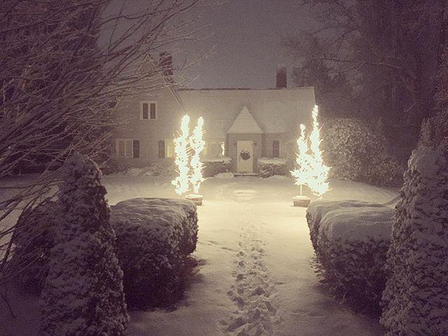 Last night #pnw #snow #skagitvalley