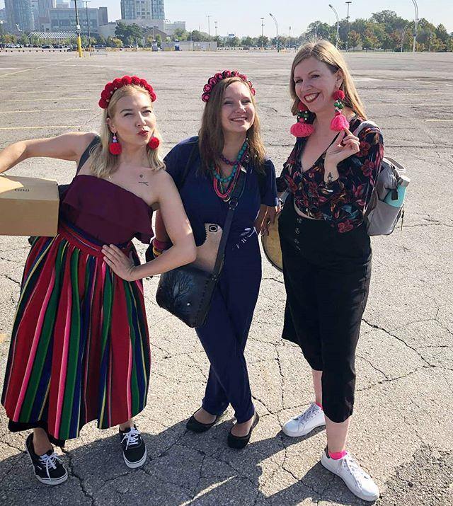 When the going gets tough, the tough ... sends a Polish woman!  Thank you my Polky! 💕 . . . #polishgirls #polkyvillageband #newcd