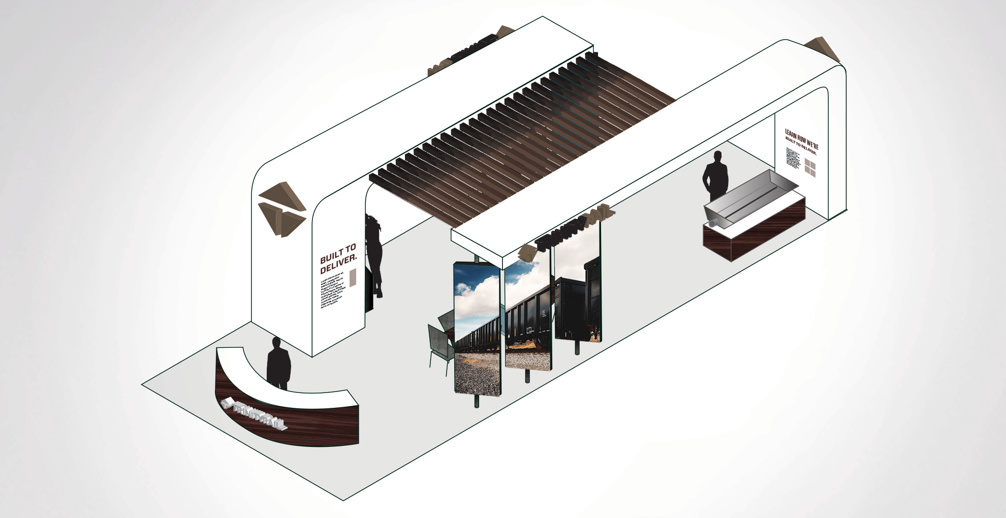 Final booth design