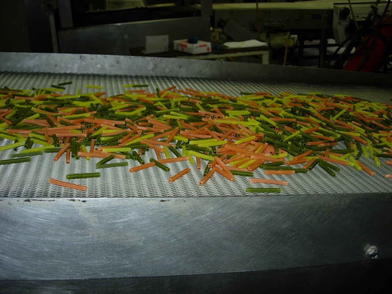 Freshly made Sensible Portions Veggie Straws