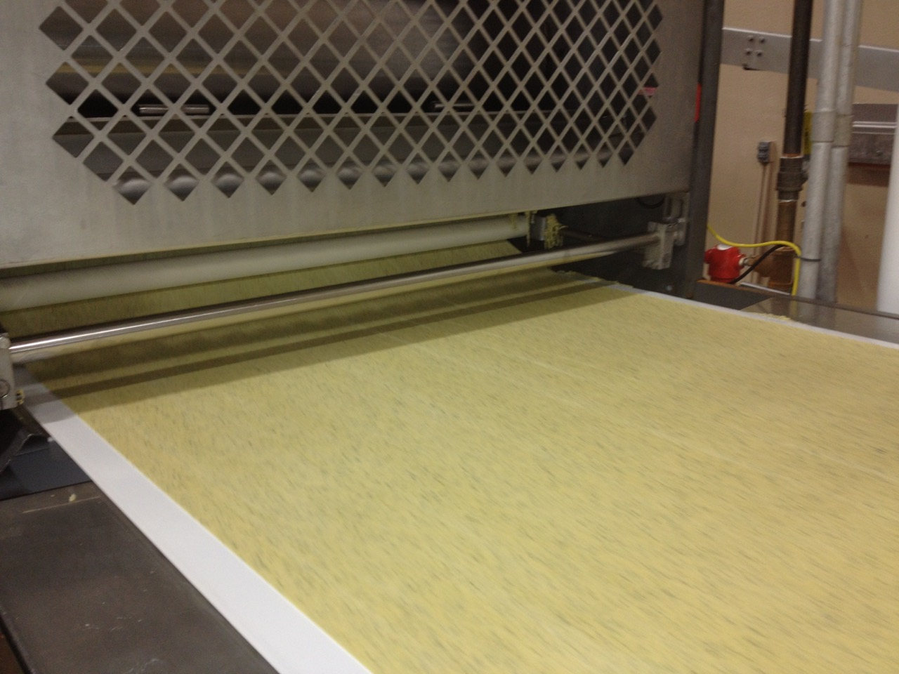 Pasta Chips carefully moving along in KEEN's manufacturing center