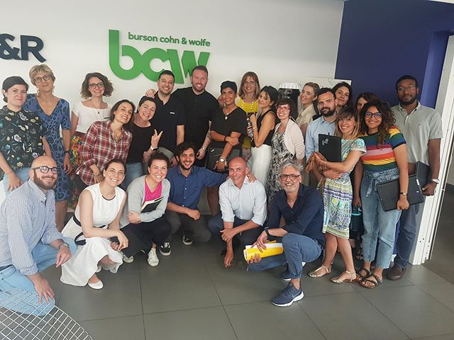 Thanks to the @bcwglobal Milan office for hosting us, and for listening to my dry humor as we shared a POV about vetting influencers to bring diverse perspectives to the table and avoid brand risks. What a brilliant group! Extremely grateful for these opportunities as a kid from Pekin. Onward.