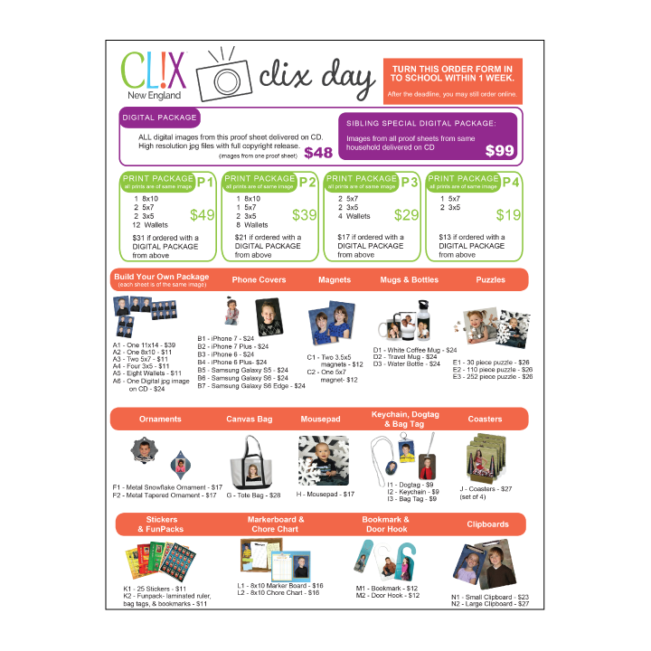 <h4>Clix Day<br>Early Education<br>Speciality Schools</h4>