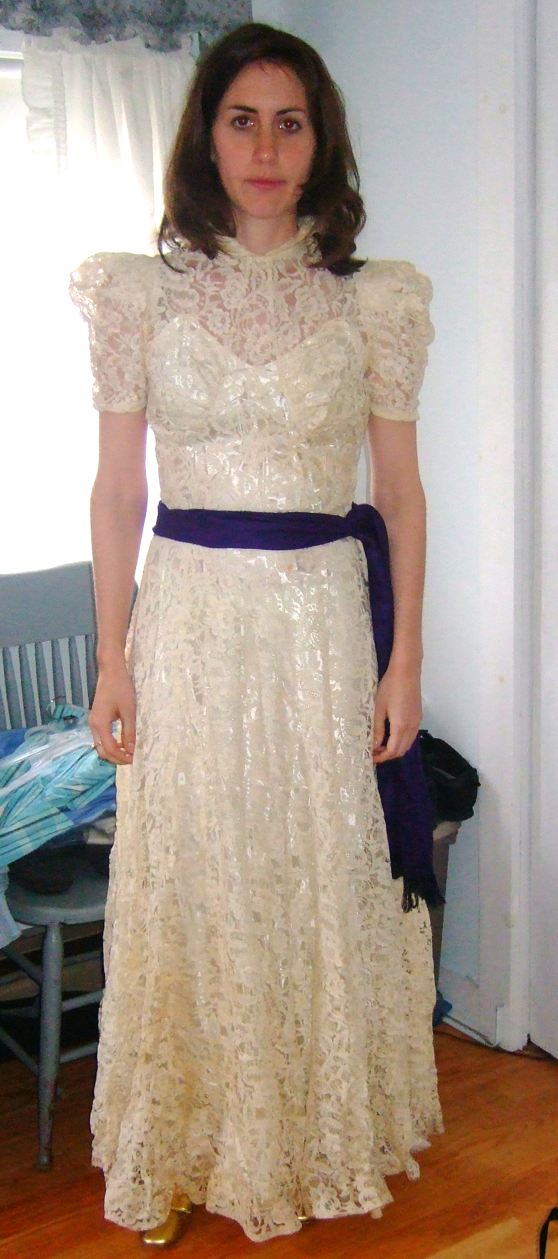 1940s Gown Restyled