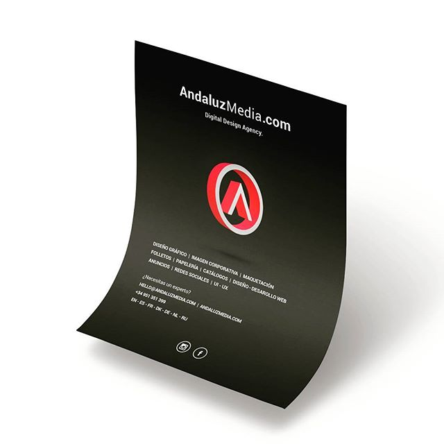 #advertising #flyer #publicidad #folleto #branding #logo #print #webdesign #3d #marbella #malaga #españa #andalucia #mijas #fuengirola #diseñografico #diseño #xmagazine #magazine #layout #minimal #followforfollow #siguemeytesigo #costadelsol #impresion #digital