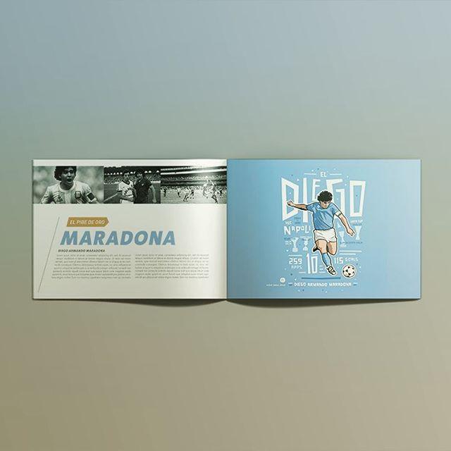 #soccer #futbol #football #maradona #argentina #booklet #encyclopedia #book #print #illustration #layout #branding #graphicdesign #diseño #diseñografico #andalucia #malaga #marbella #fuengirola #mijas #españa  #creative #digital #agency #mockup #magazine #followforfollow #siguemeytesigo