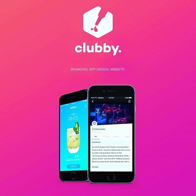 #clubby #branding #app #iphone7 #apple #party #alcohol #drinks #turnup #uk #manchester #design #graphicdesign #españa #andalucia #malaga #marbella #digital #gradient #diseño #followforfollow #siguemeytesigo #fiesta #bebidas #cocktails #nightlife