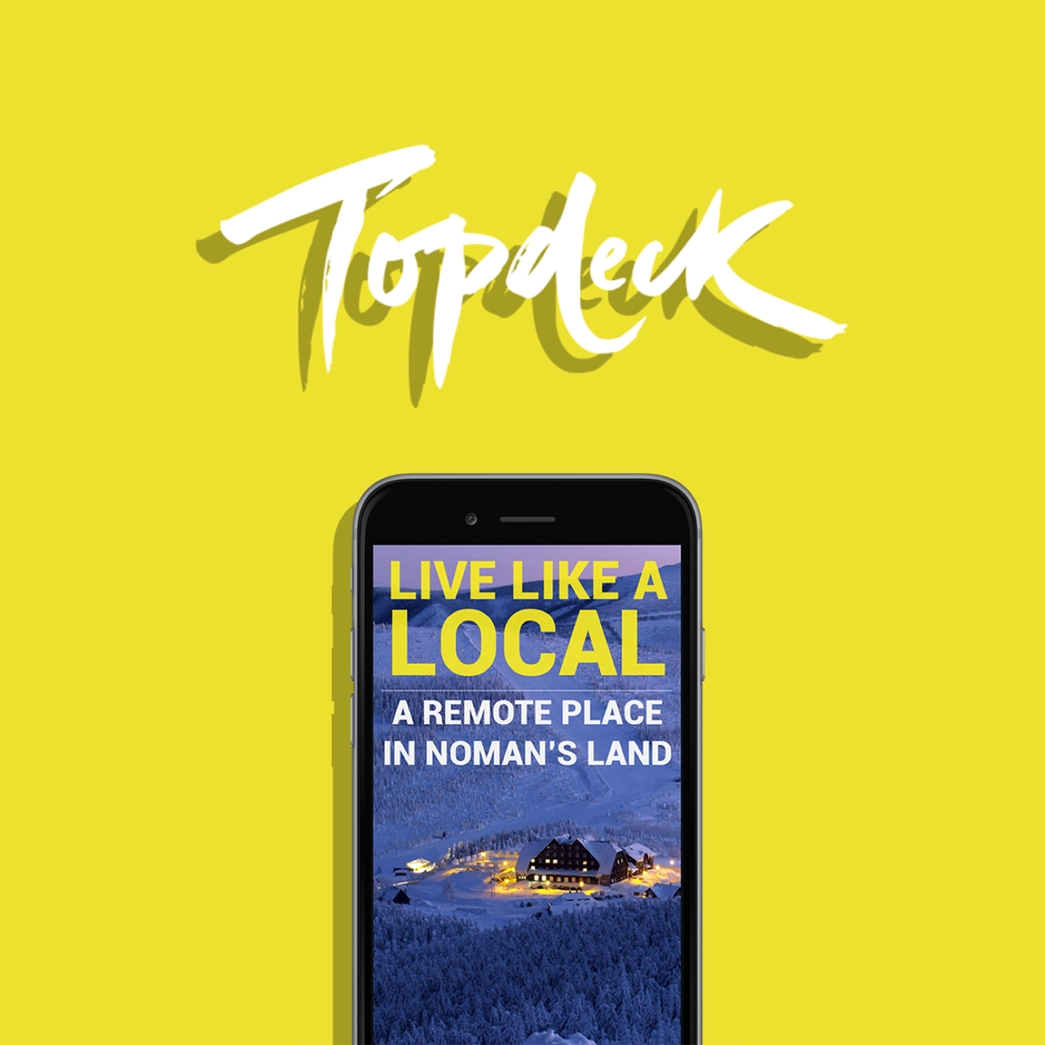 Topdeck Travels - A SoMe concept for the youthful travel agency