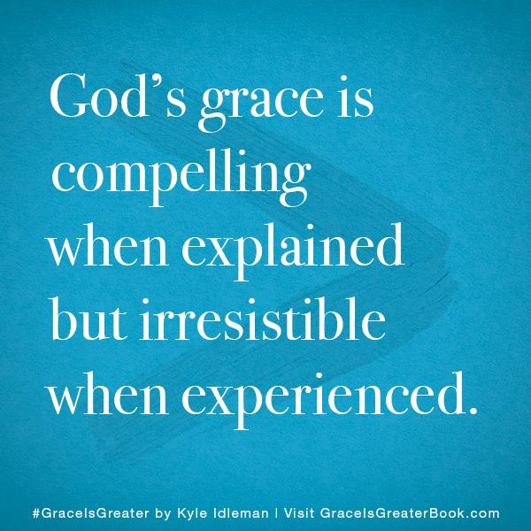 Grace is Greater Meme 1