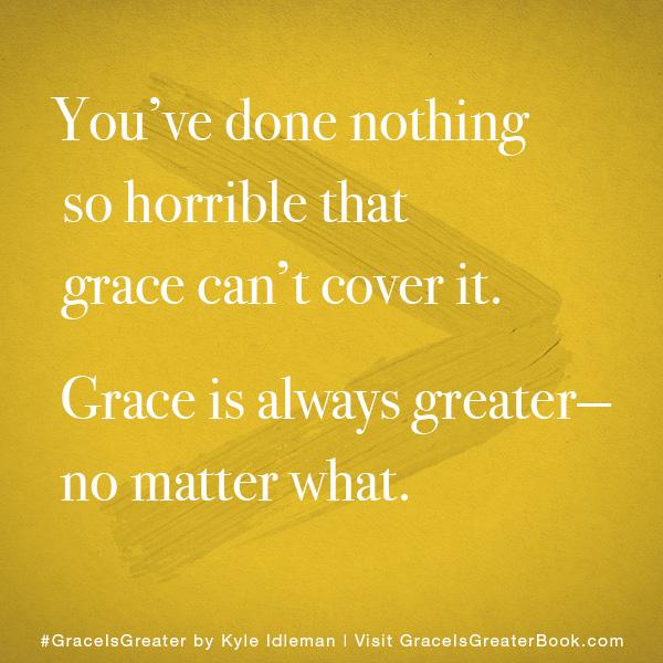 Grace is Greater Meme 3