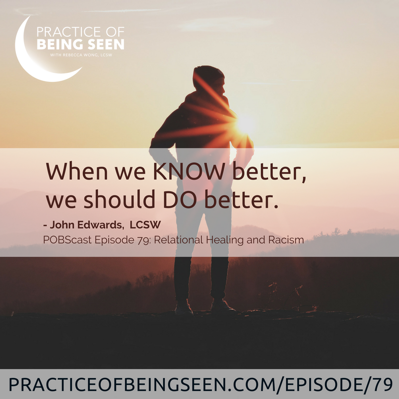 """When we KNOW better, we should DO better."" - John Edwards"