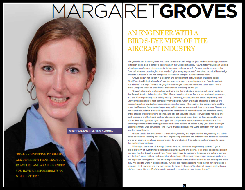 Carnegie Mellon Margaret Groves Write Up