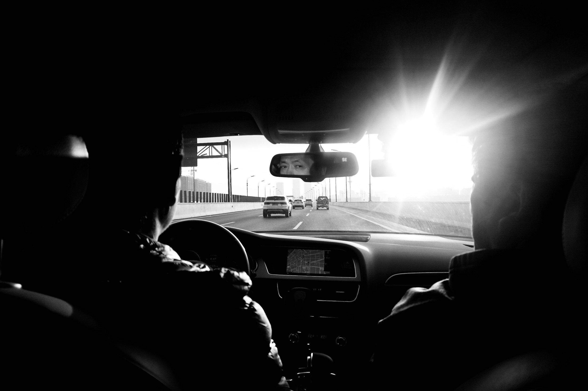 Car's Rear View Mirror 后视镜
