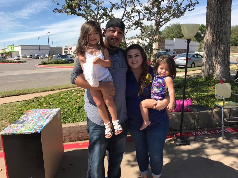 Our rockstar assistant Jamie brought her husband and her two youngest daughters!