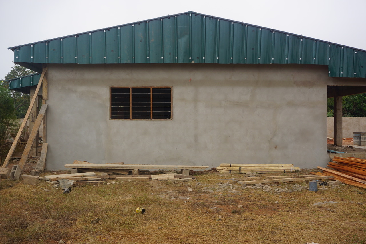 Finished Exterior Wall
