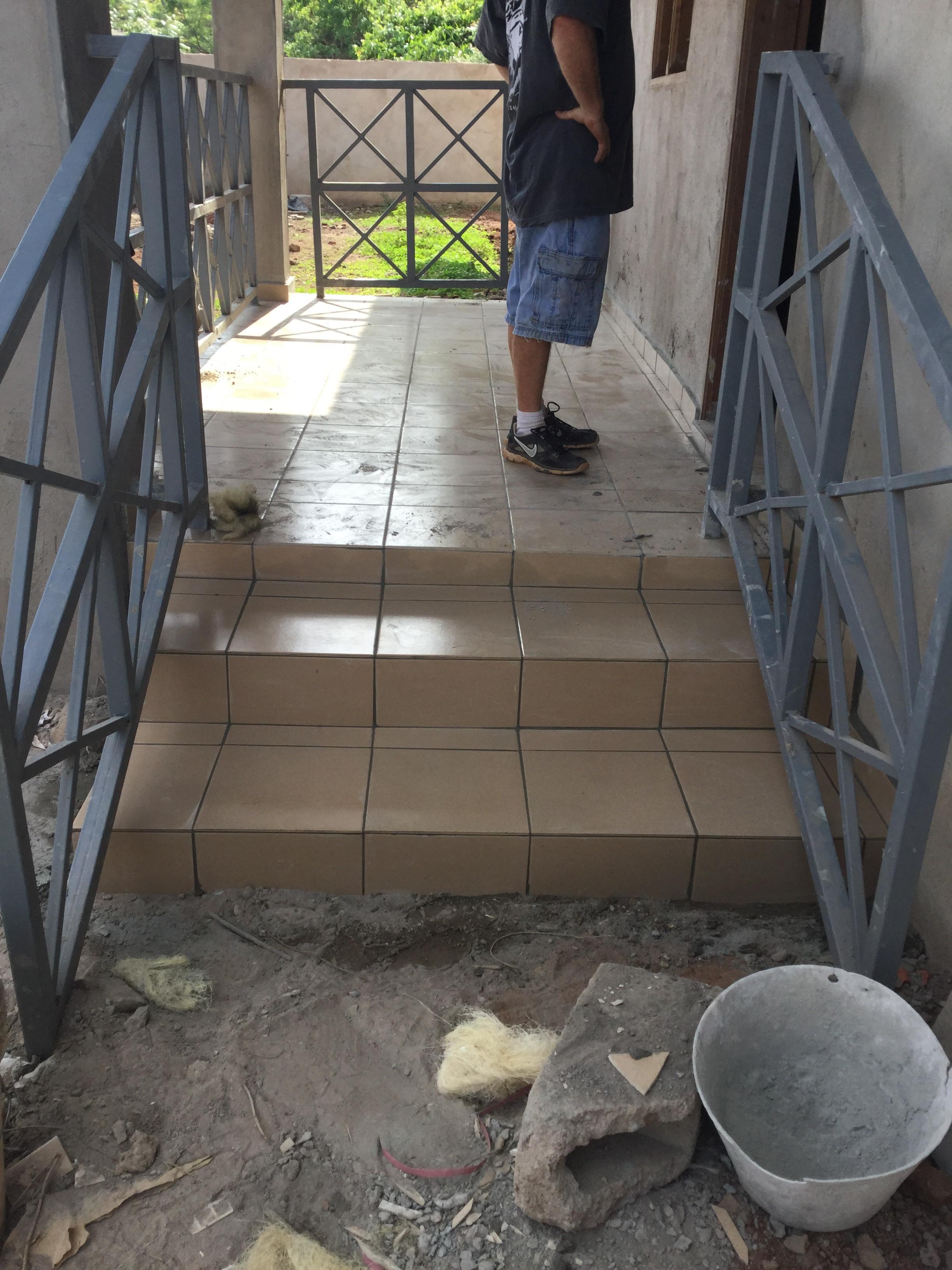 Front Porch & Railing
