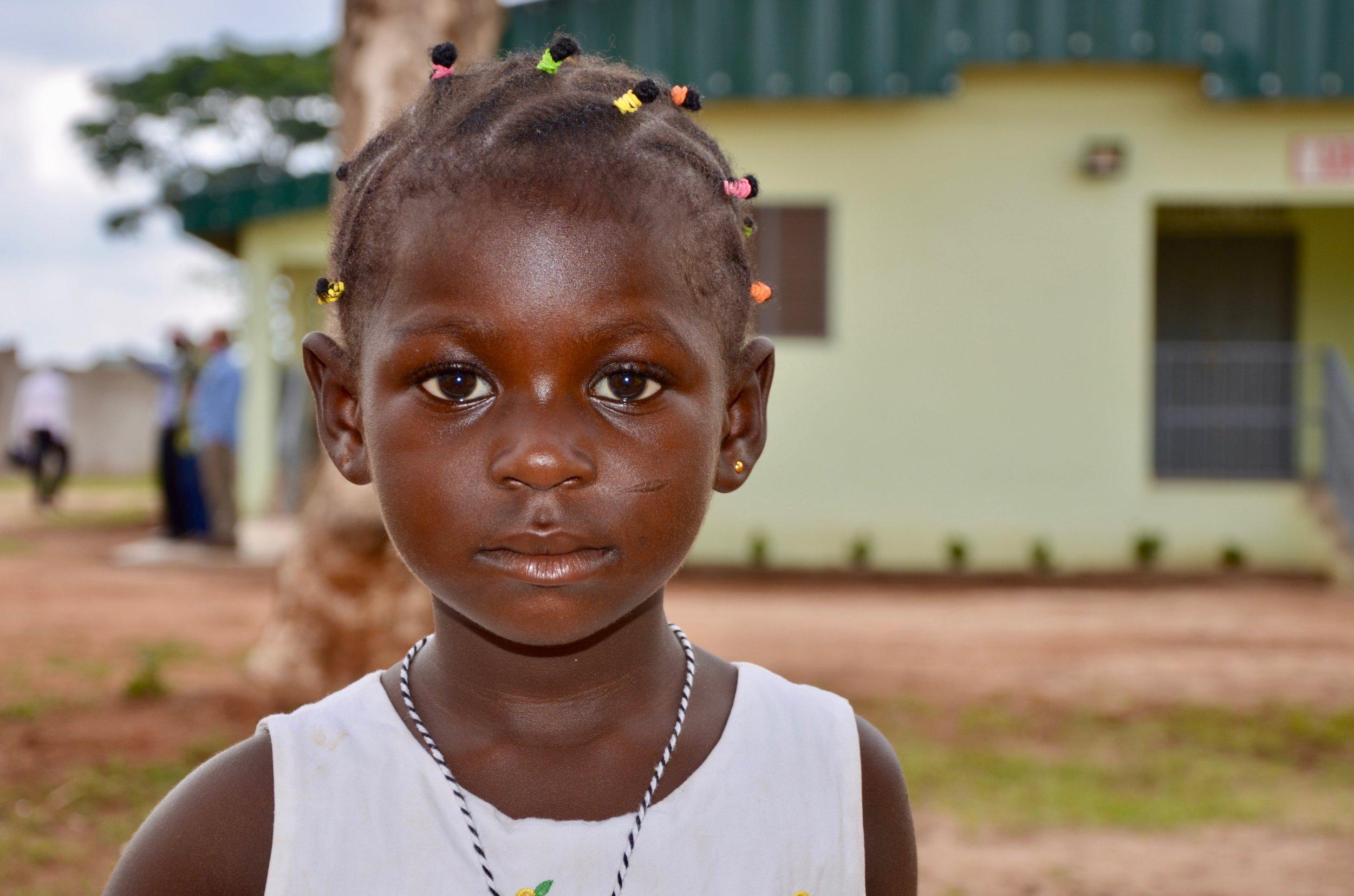 A Cote d'Ivoire child.